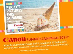 Canon Summer Campaign 2014