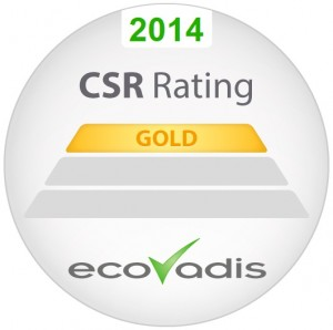 Gold Rating_EcoVadis Supplier Survey
