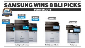 Samsung Printing Awards_BLI Award