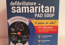 Confezione defibrillatore con Aurasma