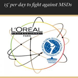L'Oréal Professionnel insieme a te contro il MSDs
