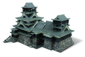 Mimaki_3D Sample - Scale Model of Kumamoto Castle