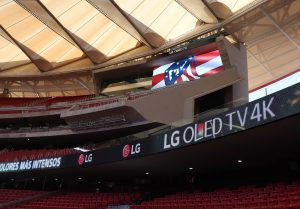 LG Signage at Atletico de Madrid_3