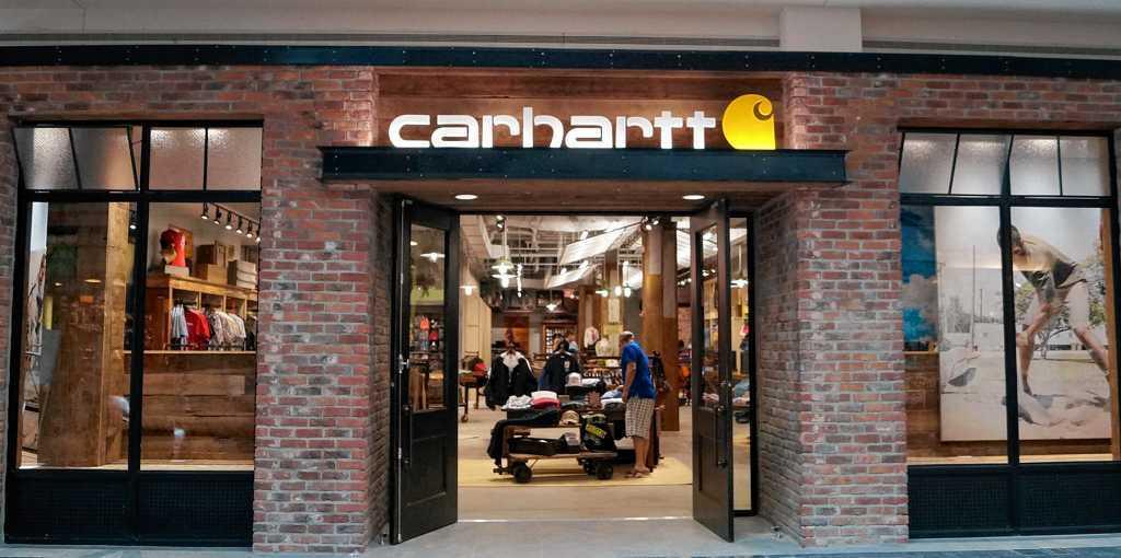 Carhartt clothing store locator