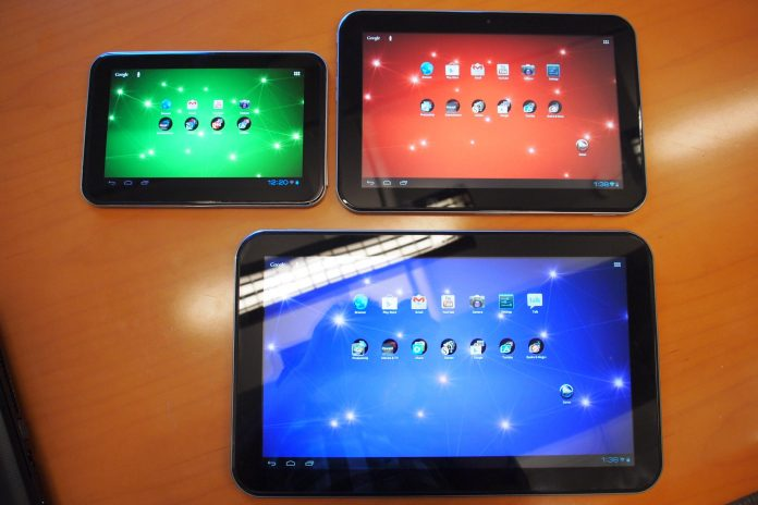 Toshiba tablet Excite