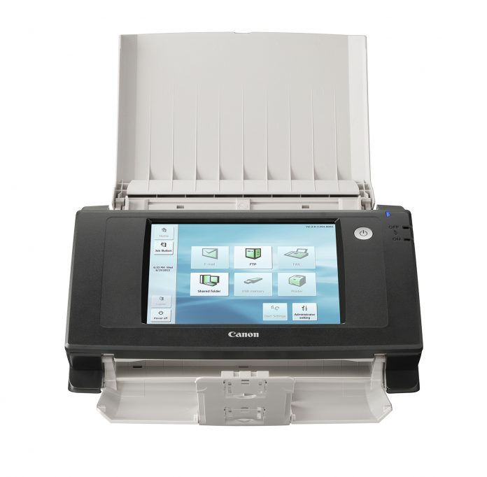 Canon ScanFront 330_FRA_trays_open