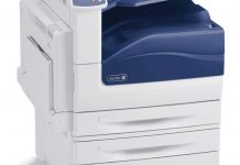 Xerox Phaser 7800 color laser printer