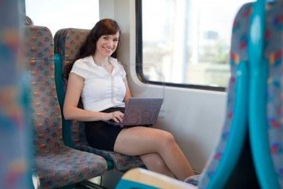 lavorare sul treno
