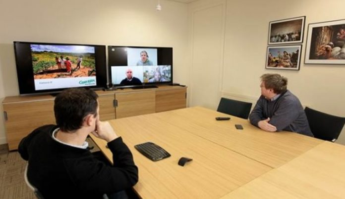 Vidyo_display LFE6 sala riunioni