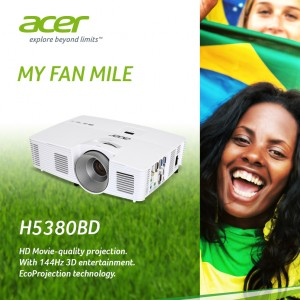 Acer Football Promotion_H5380BD projector