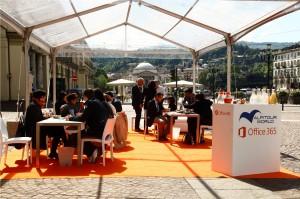 L'ufficio a cielo aperto - Torino_Microsoft e Alpitour