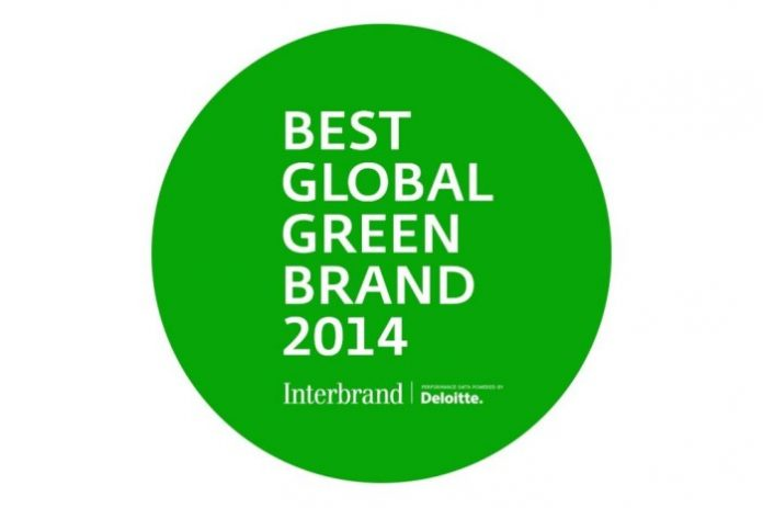 Best Global Green Brands 2014