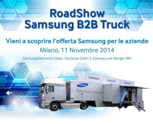 Samsung Roadshow_locandina