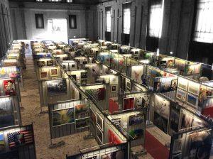 Biennale Panoramica dall'alto