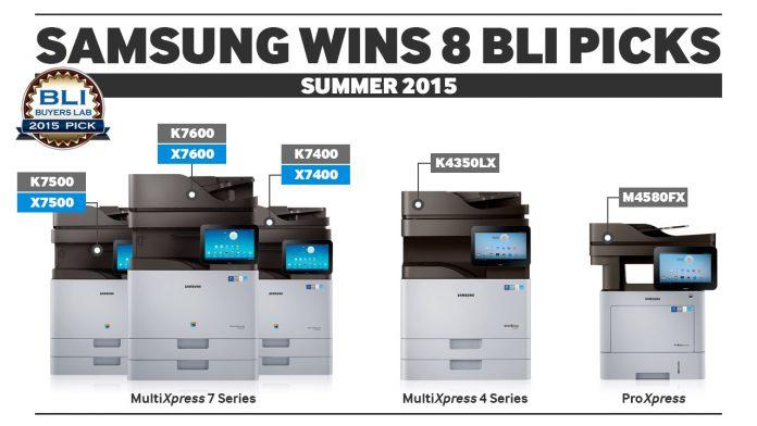 Samsung Printing Awards_BLI Award