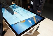 NEC_display_touch_table