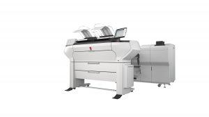 ColorWave 3500 4Roll Scanner Folder6000 Elevated WHT FSR