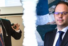 Francesco Mazzola di T.net e Giampaolo Bombo di BB Tech Group