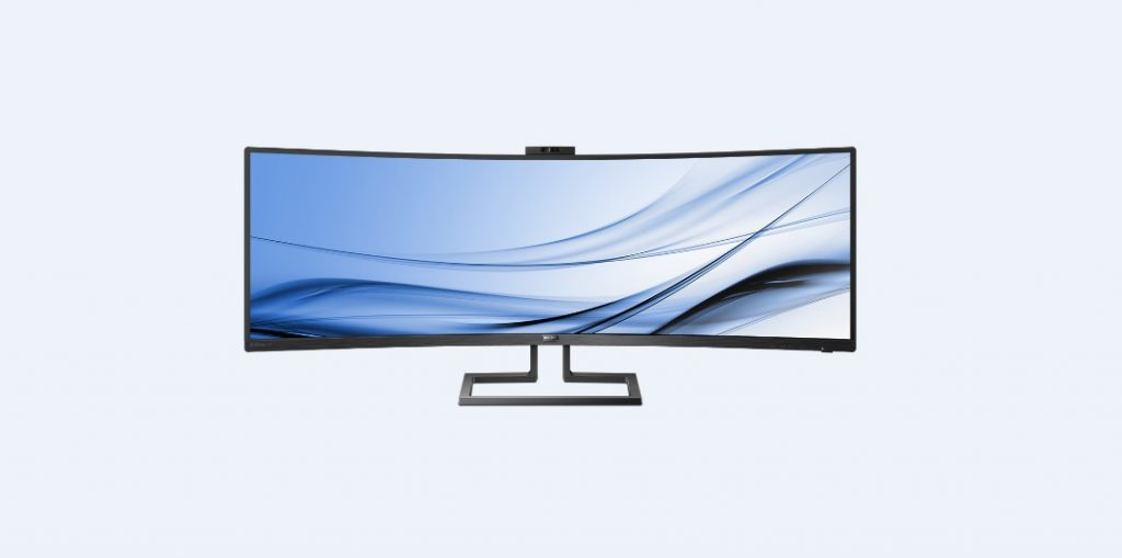 Philips 439P9H SuperWide_davanti
