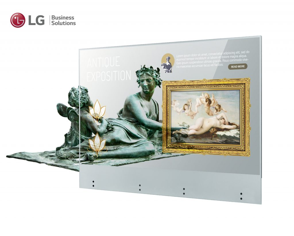 LG OLED Transparent Touch (55EW5TF-A)