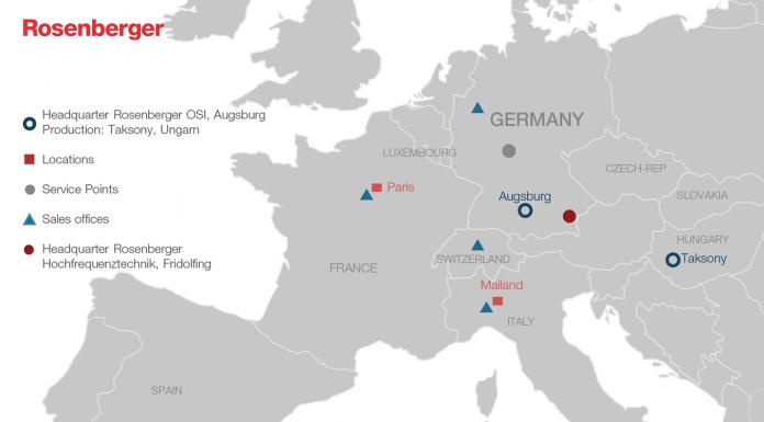 Rosenberger OSI_Locations Europe