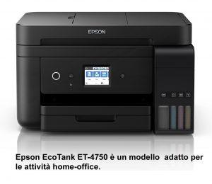 Multifunzione Epson EcoTank ET4750