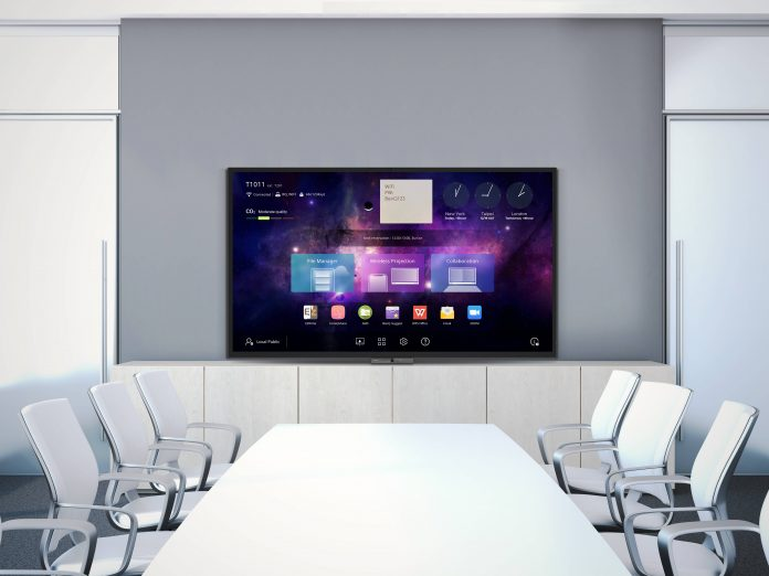 BenQ_CP_luncher in meeting room