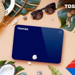 Toshiba - Canvio Advance Blue