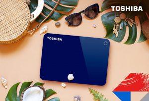 Toshiba - Canvio Advance Blue