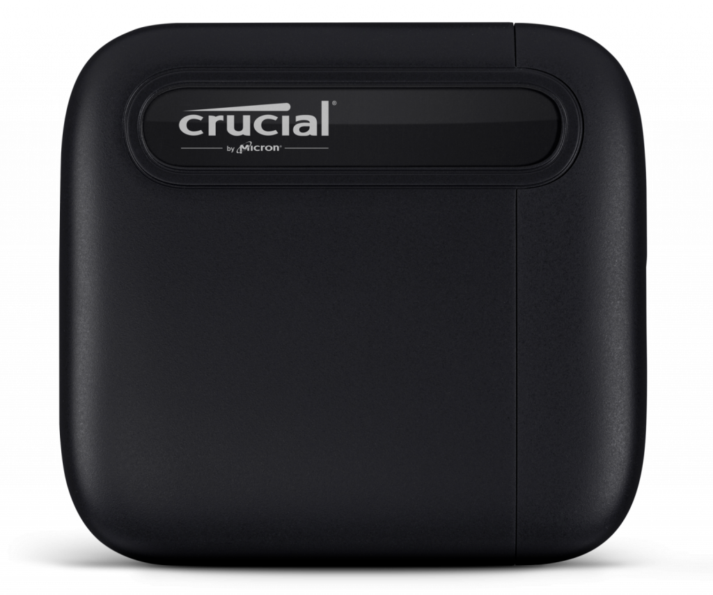 Crucial X6 Portable SSD Flat Front w_shadow Image