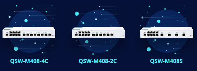 QNAP_MANAGED SWITCH SERIES QSW (10Gbe)
