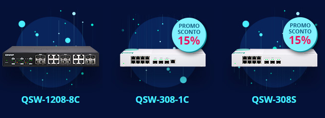 QNAP_UNMANAGED SWITCH SERIES QSW (10Gbe)
