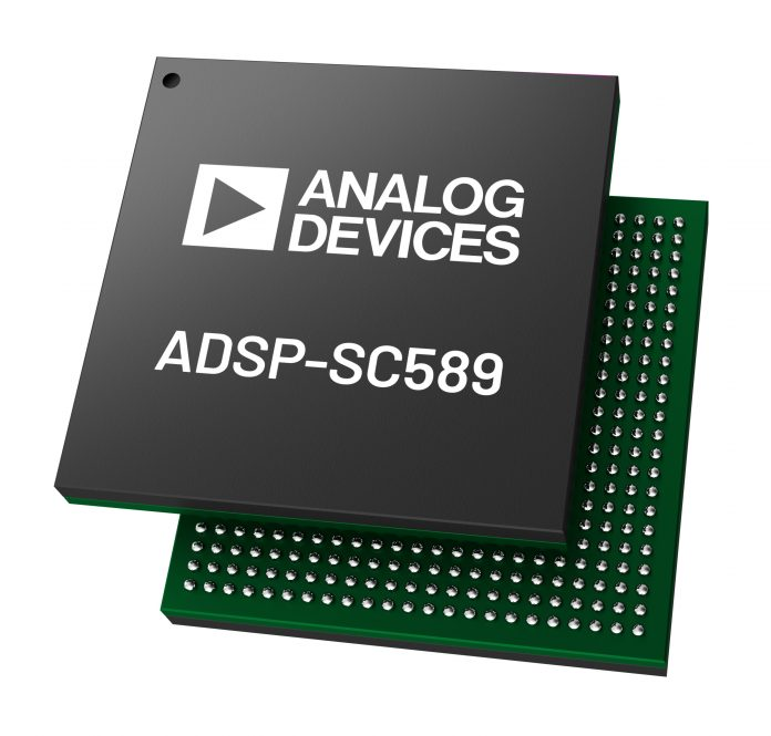 Analog Devices_ADSP-SC589 Chip Shot