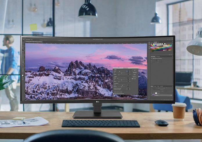 LG monitor 35BN77C