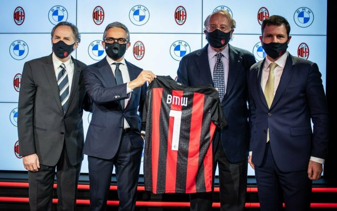 BMW e Milan: nuovo sponsor che mette l'accento sul binomio motori-calcio