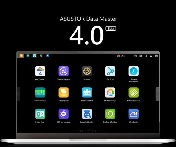 Asustor ADM 4.0 Beta