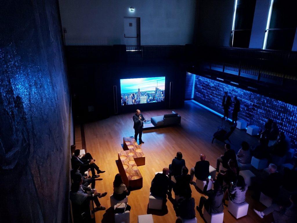 Samsung The Wall Sala Sironi