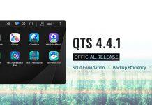 QNAP QTS 4.4.1